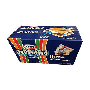 Kraft Jet-Puffed Marshmallows (20 oz. ea., 4 pk.)