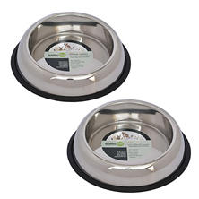 Iconic Pet Heavyweight Non-Skid Easy Feed High Back Pet Bowl (Choose Your Size)
