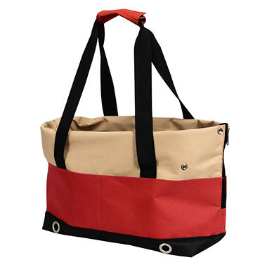 Iconic Pet FurryGo Pet Sports Handbag Carrier, Red