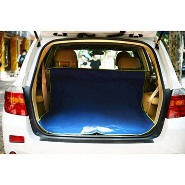 Iconic Pet FurryGo Pet Cargo Cover for Van/SUV, Navy Blue