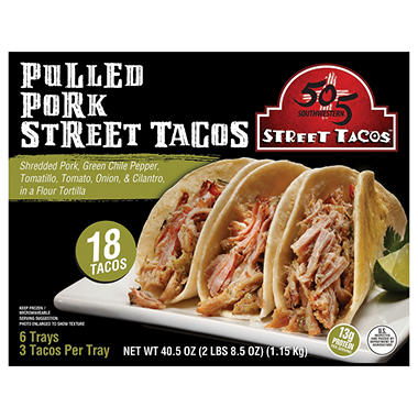 505 Southwestern Pulled Pork Street Tacos (18 ct.)