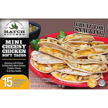 Hatch Kitchen Mini Cheesy Chicken Soft Tacos (15 ct.)