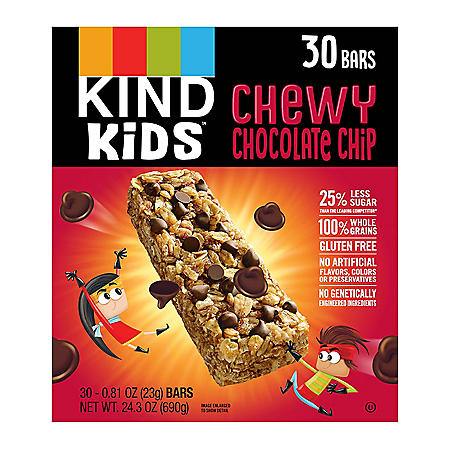 KIND Kids Chewy Chocolate Chip Granola Bars (30ct)