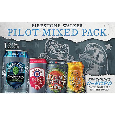 Firestone Walker Pilot Mixed Pack (12 fl. oz. can, 12 pk.)