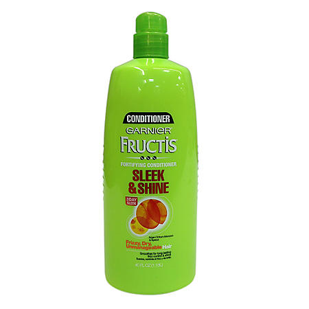 Garnier Fructis Sleek & Shine Conditioner, Pump (40 fl. oz.)