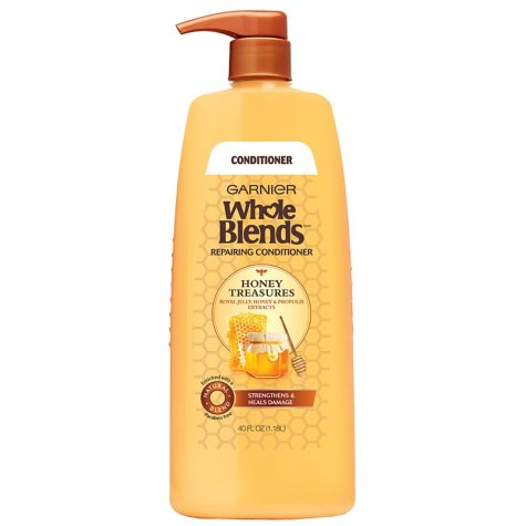 Garnier Whole Blends Honey Treasures Repairing Conditioner (40 fl. oz.)