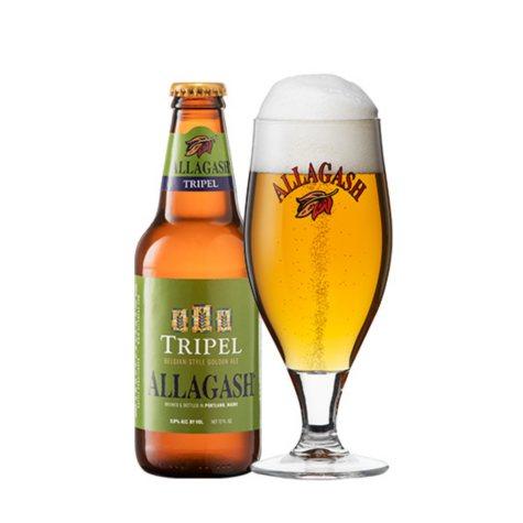 Allagash Tripel Ale (12 fl. oz. bottle, 4 pk.)