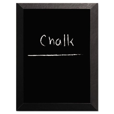 MasterVision - Kamashi Chalk Board, 36 x 24 -  Black Frame