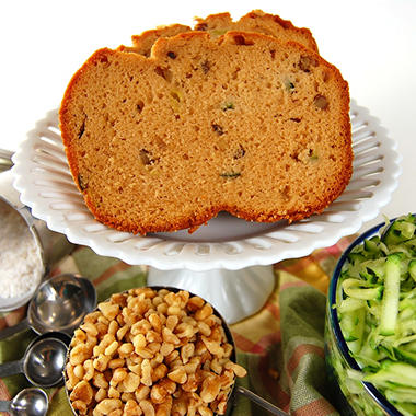 Posh Pantry Zucchini Walnut Bread (36 oz.)