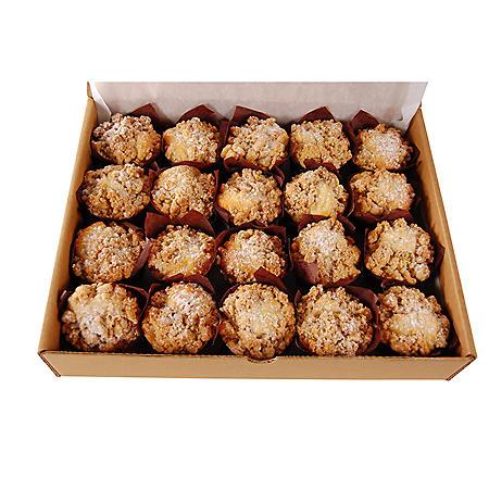 Coffee Crumb Cake, Bulk Wholesale Case (120 ct.)
