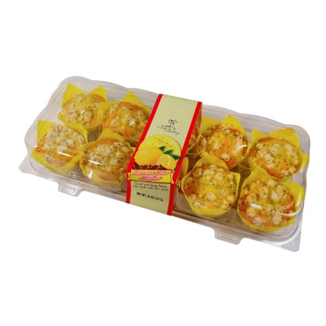 Posh Pantry Lemon Chia Muffins (10 ct.)
