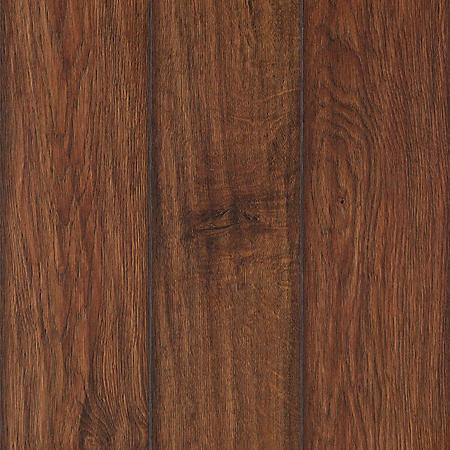 Sample - Inspired Elegance by Mohawk Rustic Barn Hickory Laminate Flooring