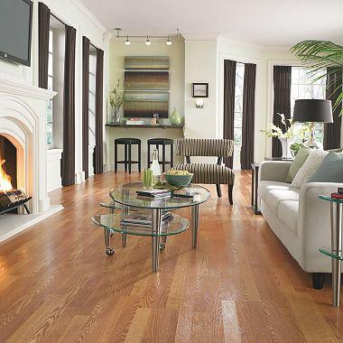 Traditional Living Golden Amber Oak II Laminate Flooring - Sam\'s Club
