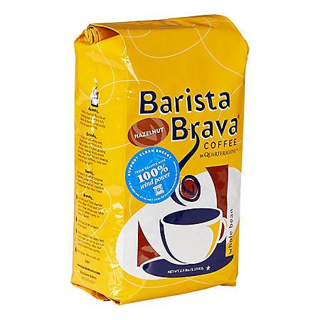 Barista Brava by Quartermaine Whole Bean Coffee, Hazelnut (40 oz.)