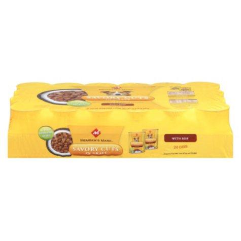 Member's Mark® Premium Wet Dog Food - 24/13.2 oz. cans