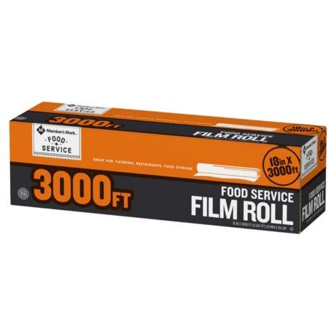 "Member's Mark Foodservice Film (18"" x 3,000')"