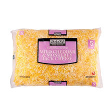 Daily Chef Cheddar Jack Shredded Cheese - 5 lbs.
