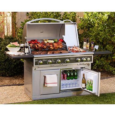 member 39 s mark 48 outdoor propane grill with fridge sam 39 s club. Black Bedroom Furniture Sets. Home Design Ideas