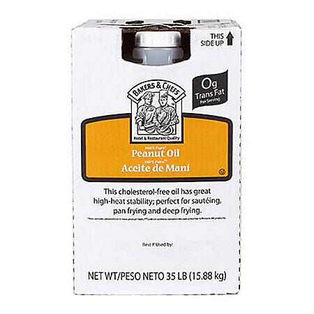 Bakers & Chefs™ Pure Peanut Oil - 35lb