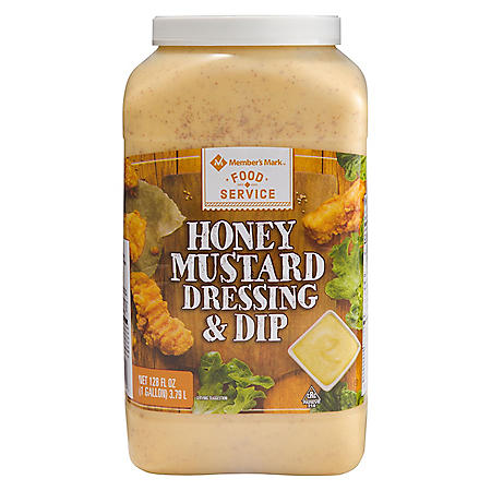 Member's Mark Food Service Honey Mustard (128 oz.)