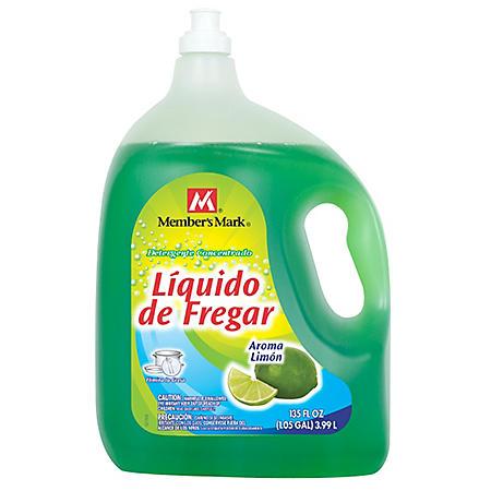Member's Mark Lemon Liquid Dish Soap (135 fl. oz.)