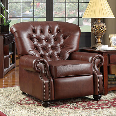 Monticello Pushback Recliner - Leather & Monticello Pushback Recliner - Leather - Samu0027s Club islam-shia.org