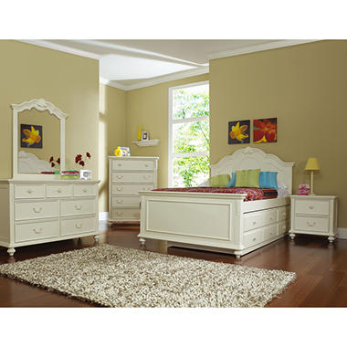 Samuel Lawrence Villa Youth Bedroom Set - Full - 6 pc.