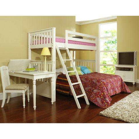 Samuel Lawrence Villa Youth Twin Bunk/Loft Bed Set