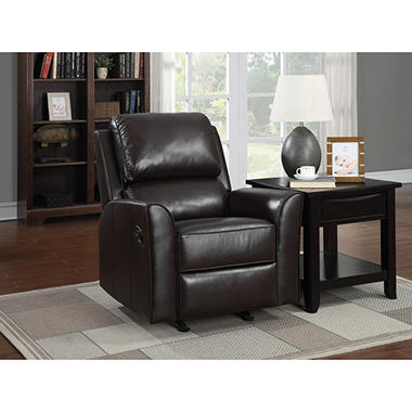 eastwood topgrain leather rocker recliner - Leather Rocker Recliner