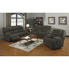 Marlow Reclining Sofa, Loveseat and Chair Set
