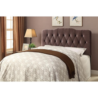 Rayan Tufted Slate Upholstered Headboard (Assorted Sizes)