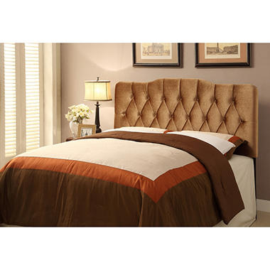 Rayan Velvet Upholstered Headboard (Assorted Sizes)