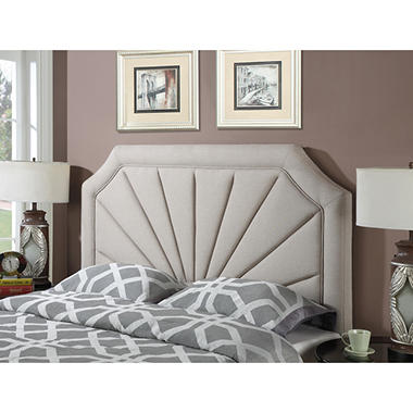 Fremont Pleated Upholstered Headboard Assorted Sizes Sams Club - Comfortable-upholstered-headboard