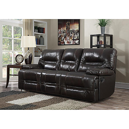 Stapleton Top Grain Leather Reclining Sofa