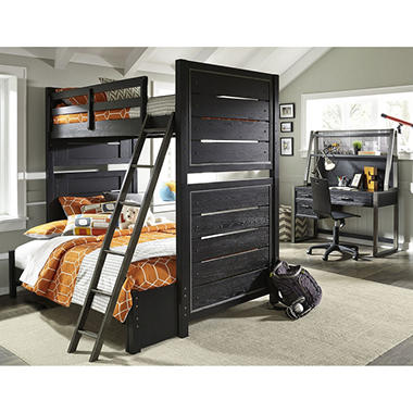 Brooks Twin-Over-Full Bunk Bed