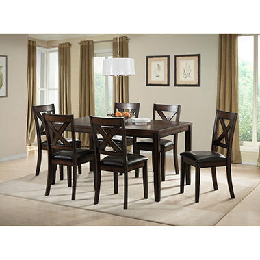 High Quality Walker 7 Piece Dining Set Good Looking