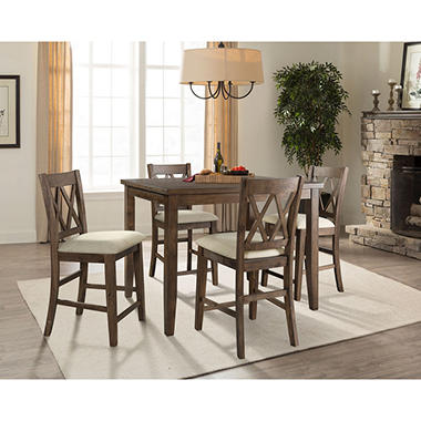 Oliver 5 Piece Counter Height Dining Set Sams Club