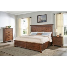 Coronado Aged Cherry Storage Bedroom Set (Assorted Sizes)