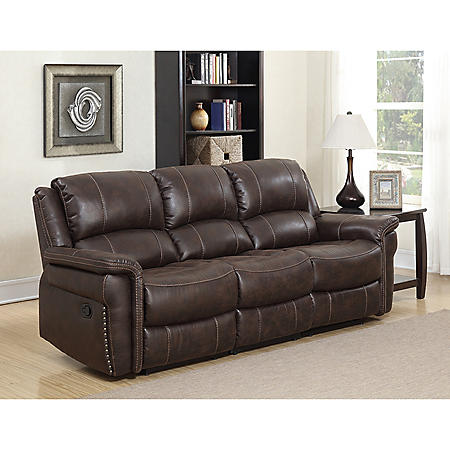 Charles Manual Dual Reclining Sofa