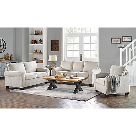Adaline Sofa, Loveseat and Chair Collection (Assorted Colors)