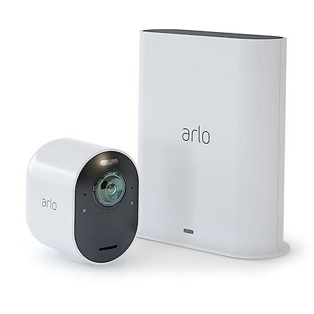 Arlo Ultra 4K UHD Wireless Security Camera System – 1 Camera