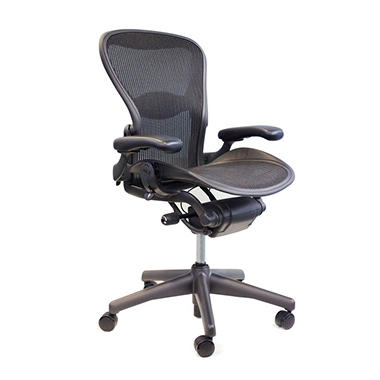 herman miller aeron chair black