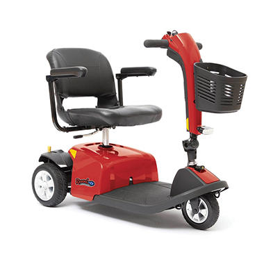 Rascal 3-Wheel Mobility Scooter, Red