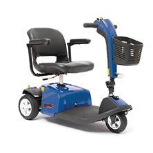 Rascal 3-Wheel Mobility Scooter, Blue