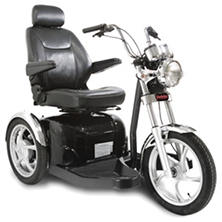 Sport Rider 3-Wheel Scooter Single Seat with Accessories Package