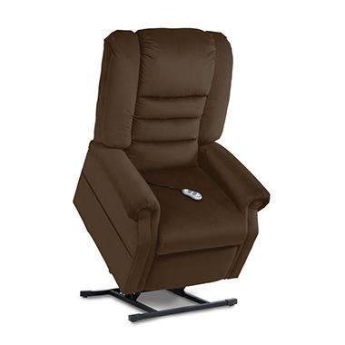 Hawthorne Adjustable Headrest, 3-Position Power Recline & Lift Chair (Choose A Color)