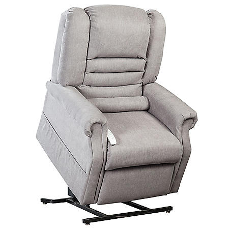 Felicity Infinite Position Power Recline & Lift Chair with Zoned Heating, Dove