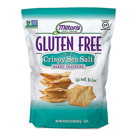 Milton's Gluten-Free Crispy Sea Salt Crackers (20 oz.)