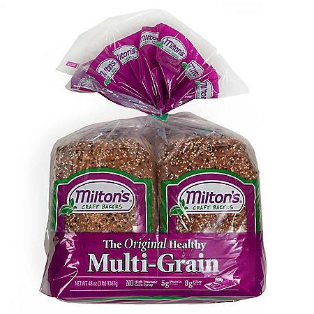 Milton's Original Multi-Grain Bread (24 oz. loaf, 2 pk.)