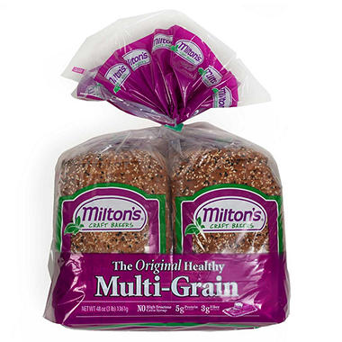 Milton's Original Multi-Grain Bread (24 oz. loaf, 2 pk.)